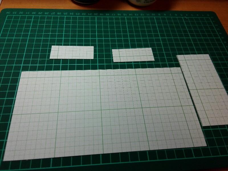 名刺入れ型紙