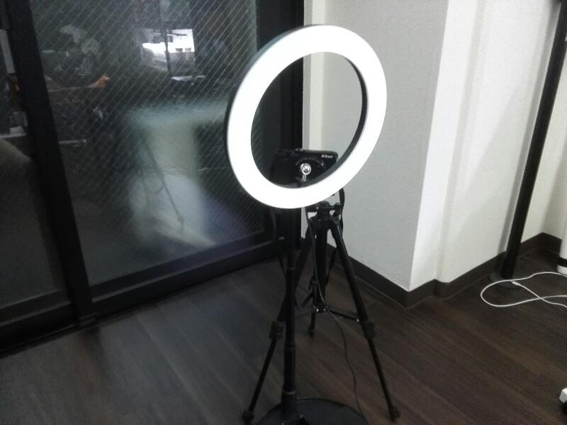 LED リングライト